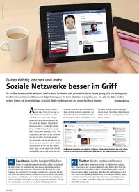 Soziale Netzwerke besser im Griff