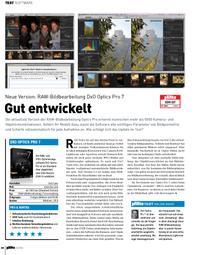 Neue Version: RAW-Bildbearbeitung DxO Optics Pro 7