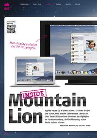 Inside Mountain Lion
