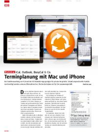 iCal, Outlook & Co.: Terminplanung mit Mac und iPhone