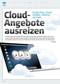 Cloud-Angebote ausreizen