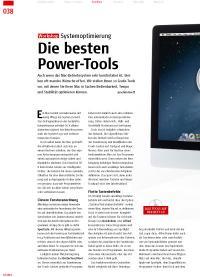 Systemoptimierung: Die besten Power-Tools