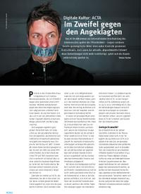 Digitale Kultur: ACTA