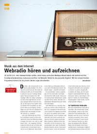 Internetmusik: Webradio hören und aufzeichnen