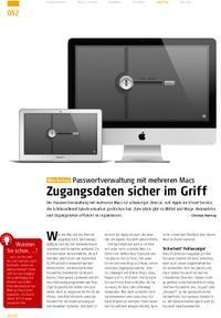 Workshop: Passwortverwaltung mit mehreren Macs