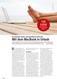 Im Ausland sicher und günstig mit dem MacBook ins Internet