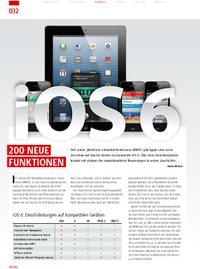 Betriebssystem iOS 6: 200 neue Funktionen