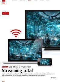 Streaming-Workshop: Mac, iPhone & TV vernetzen