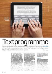 iPad-Textprogramme im Test