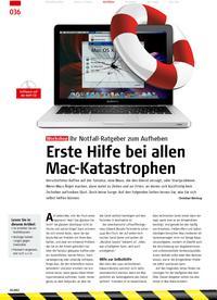 Workshop: Erste Hilfe bei allen Mac-Katastrophen