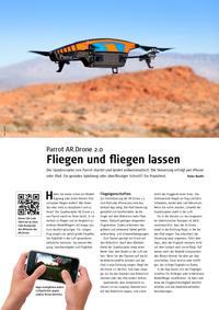 Parrot AR.Drone 2.: Fliegen und fliegen lassen