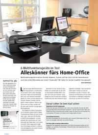 6 Multifunktionsgeräte im Test: Alleskönner fürs Home-Office