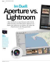 Im Duell: Aperture vs. Lightroom