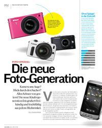 Fotospezial: Die neue Foto-Generation