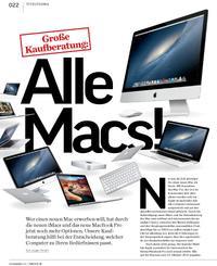 Große Kaufberatung: Alle Macs
