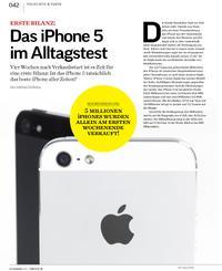Erste Bilanz: Das iPhone 5 im Alltagstest