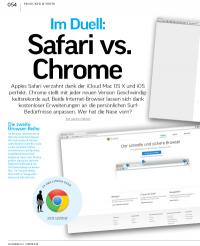 Im Duell: Safari vs. Chrome