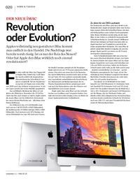 Der neue iMac: Revolution oder Evolution?