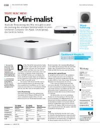 Test: Mac mini – der Mini-malist