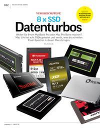 Vergleichstest: 8 x SSD-Datenturbos
