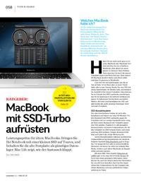 Ratgeber: MacBook mit SSD-Turbo aufrüsten