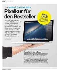 Test: MacBook Pro 13 Zoll Retina