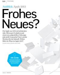 Ausblick: Apple 2013 - Frohes Neues?