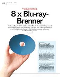 Vergleichstest: 8 x Blu-ray-Brenner