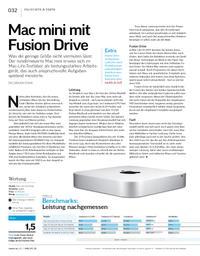 Macs im Test: Mac mini mit Fusion Drive & 27-Zoll-iMacs