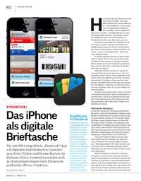 Passbook: Das iPhone als digitale Brieftasche