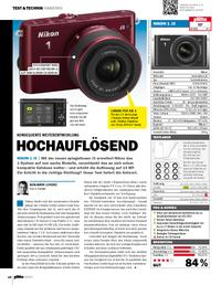 Konsequente Weiterentwicklung: Spiegellose Systemkamera Nikon 1 J3