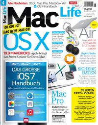 Mac Life 08.2013 + iOS-7-Booklet