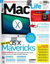 Mac Life 09.2013 + Sicherheit-Spezial