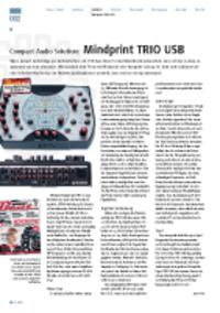 Compact Audio Solution - Mindprint TRIO USB