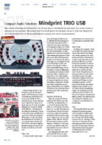 Compact Audio Solution - Mindprint TRIO USB