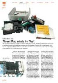 Neue Mac minis im Test