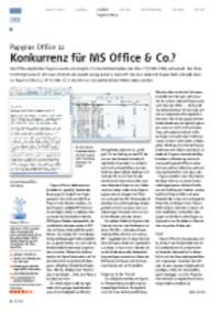 Papyrus Office 12 - Konkurrenz für MS Office & Co.?