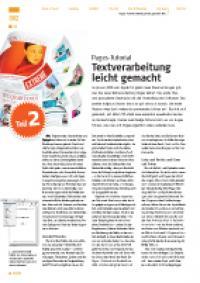 Pages-Tutorial: Textverarbeitung leicht gemacht
