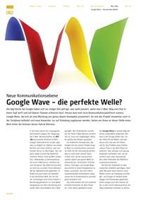 Google Wave – die perfekte Welle?