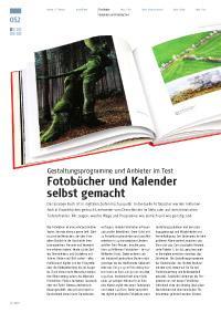 Fotobücher und Kalender selbst gemacht