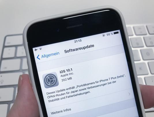 iOS 10.1 ist da: Porträtkamera für iPhone 7 Plus als Beta & auskurierte Kinderkrankheiten