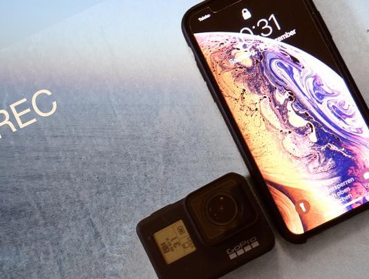 iPhone XS gegen GoPro Hero 7 Black: Wer schießt schärfer?