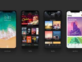 So sehen Apps auf dem iPhone 8 aus