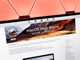 macOS High Sierra ist endlich final