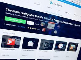 """""""Black Friday Mac Bundle"""" mit PDF Expert und Toast Titanium im Paket billiger"""