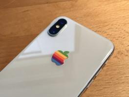 Apple lässt sich sein altes, buntes Logo schützen