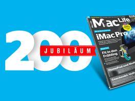 Großes Jubiläum: 200 Ausgaben Mac Life!