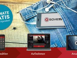 Mit Save.TV die Lieblingssendungen immer dabei haben