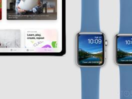 Konzepte: 11-Zoll-iPad-Pro und Apple Watch Series 4 auf Bildern festgehalten