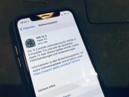 iOS 12.3 ist da